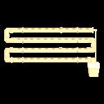 גידול הידרופוני במערכת NFT על קיר